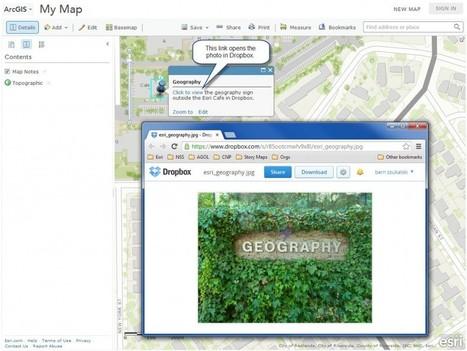 Using Dropbox files in ArcGIS Online web maps | IdeasInnovadoras | Scoop.it