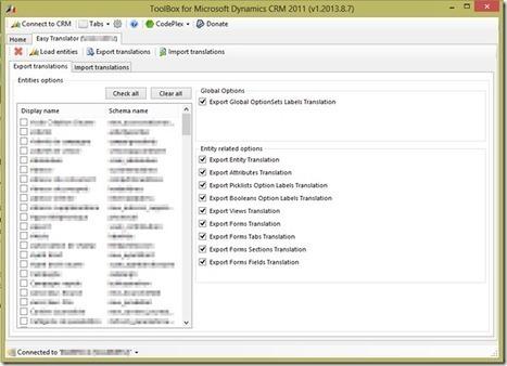 Dynamics CRM Tools: New XrmToolBox Plugin : Eas