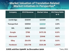 Private Equity, The Translation Industry & Lionbridge | Automated Translation (MT) Trends | Scoop.it