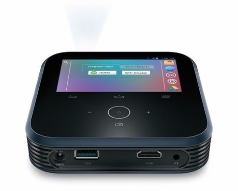 Ever wanted a projector/mobile hotspot combo? Sprint's got you covered | WiFiNovation | Scoop.it