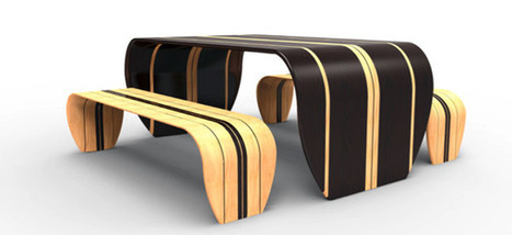 Surfer Bench by Duffy London » Yanko Design | Furniture Design | Scoop.it