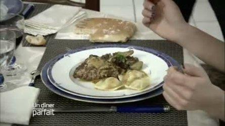 Volaille avec ravioles de foie gras - recette Un dîner presque parfait | foie gras | Scoop.it