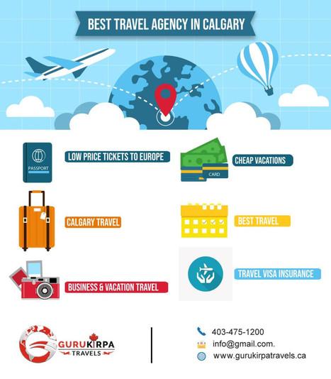 Travel Agency in Calgary Alberta: GuruKirpa Tra