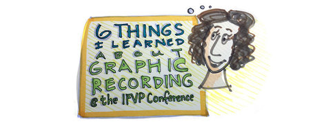 6 things I learned about graphic recording at the IFVP conference - Stone Soup Creative | Graphic Coaching | Scoop.it