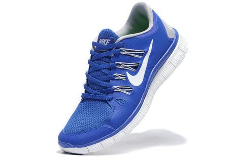 Nike Free 5.0 Breathe Men Royal Blue White [nik