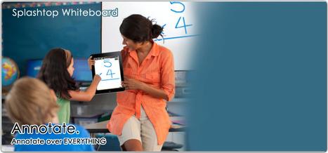 Splashtop Whiteboard | Digital Presentations in Education | Scoop.it