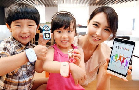 Track your kid's location using Kizon from LG | Tech Buzz | Scoop.it