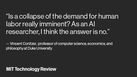 Recent advances in artificial intelligence are stunning—but they do not justify basic income | Global Brain | Scoop.it