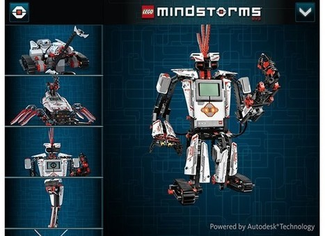 Autodesk partners with Lego to create 3D interactive Mindstorm EV3 instructions | All staff related with computers and technology...and software, hardware, robotics, games, AI... | Scoop.it