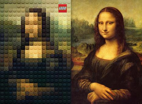 La nouvelle campagne LEGO revisite les chefs d'oeuvre de la peinture | Brand Marketing & Branding [fr] Histoires de marques | Scoop.it
