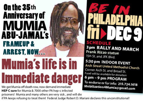 Dec 9th for Our Voice of the Voiceless #MumiaAbu-Jamal | SocialAction2014 | Scoop.it