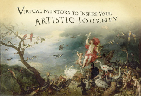 Virtual Mentors to Inspire Your Artistic Journey | Abolish the Rule of Thirds | Scoop.it