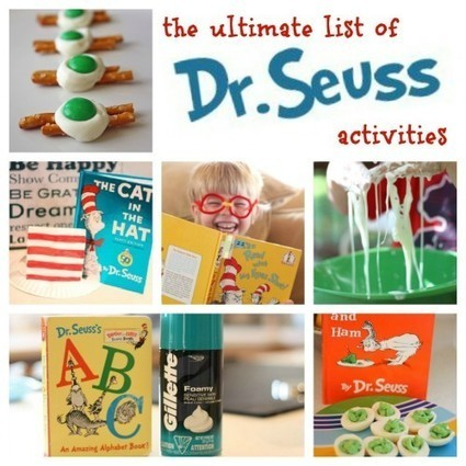 The Ultimate List of Dr. Seuss Activities - I Can Teach My Child! | Learn through Play - pre-K | Scoop.it