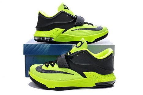 best service 730e6 8652b Men Nike Kevin Durant 7 Volt Green Black Basketball Shoes,Discount Men Nike Kevin  Durant 7 Volt Green Black Basketball Shoes Sale