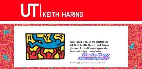 Uniqlo x Keith Haring: Cool or Cringe? - Artsnapper   Cris Val's Favorite Art Topics   Scoop.it