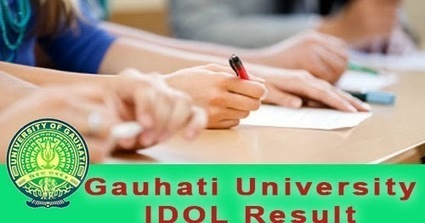 IDOL GU Result 2018 - www idolgu in 2017-18 Res