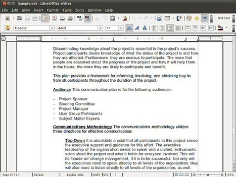 LibreOffice Updated for Open Source Document Creation - Graphics.com | TDF & LibreOffice | Scoop.it