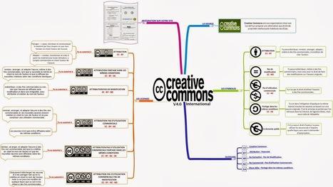 Une mindmap pour comprendre les licences Creative Commons | François MAGNAN  Formateur Consultant | Scoop.it