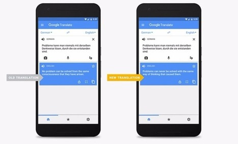 Google introduces Neural Machine Translation to Google Translate | Mobile Phones and  Language Learning | Scoop.it