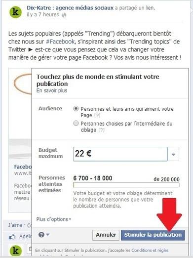 Facebook : pour que vos messages soient vus par vos fans, il va falloir (davantage) payer | médias sociaux, e-reputation et web 2 | Scoop.it