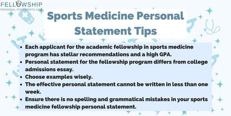 Personal Statement Internal Medicine Tips | Fel