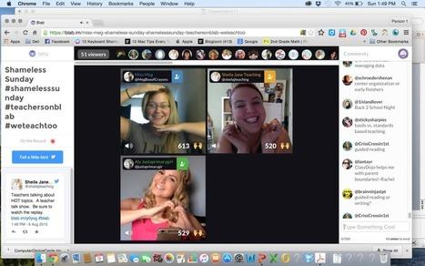 Blab. Outil de tchat vidéo pour groupes - Les Outils du Web | Nouvelles des TICE | Scoop.it