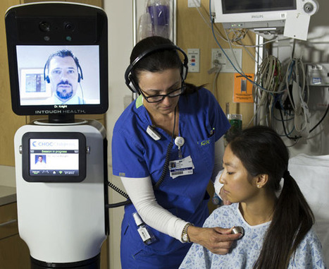 InTouch and iRobot Develop Next Generation Telemedicine Device | Health Technology and Social Media | Scoop.it