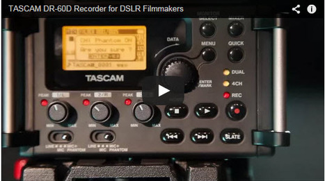 Tascam new DR-60D Mark II Audio Recorder » CheesyCam | world of Photo and vidéo | Scoop.it