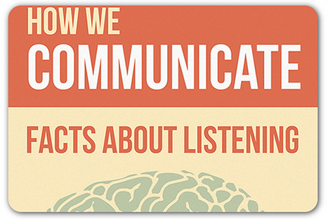 Listening facts you never knew | Articles | Home | Learning... | Scoop.it