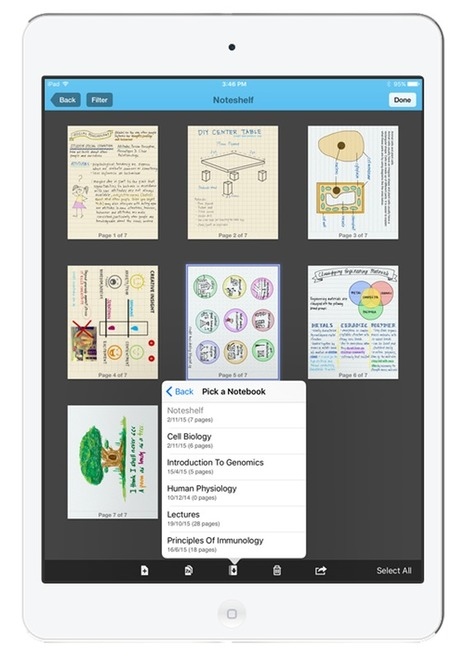 Noteshelf - Best Note Taking App for iPad | Commercial Software and Apps for Learning | Scoop.it