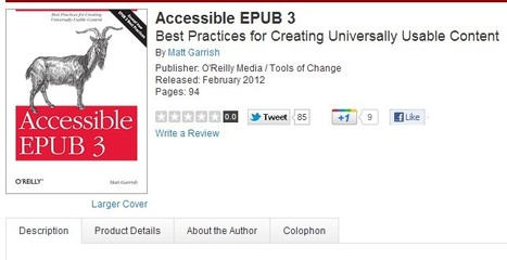 Accessible EPUB 3 | Inclusive teaching and learning | Scoop.it