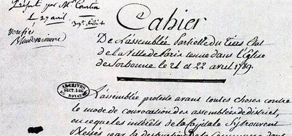 La France en 1789 d'après les Cahiers de Doléances | Généalogie et histoire, Picardie, Nord-Pas de Calais, Cantal | Scoop.it