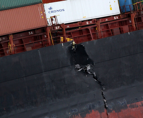 Oil Spill Disaster on New Zealand Shoreline | Best of Photojournalism | Scoop.it