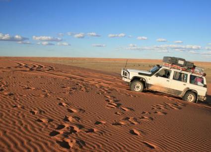 De dune en dune, au cœur du désert Simpson | Les déserts dans le monde | Scoop.it