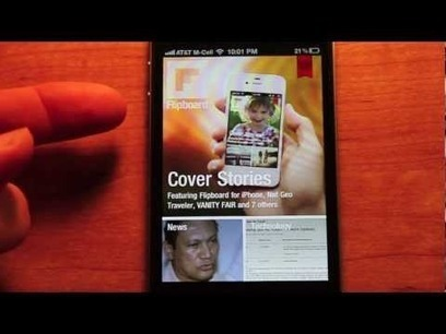 Flipboard for iPhone Review by justreviewingapps.com | Flipboard | Scoop.it