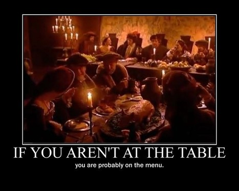 Are you at the table? - Home - Doug Johnson's Blue Skunk Blog | School Librarian As Building Leader | Scoop.it