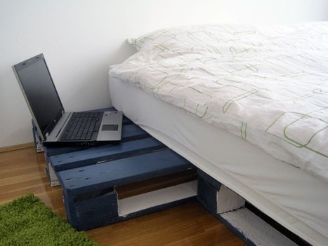 Simple geeksters pallet bed idea - 1001 Pallets | bancoideas | Scoop.it