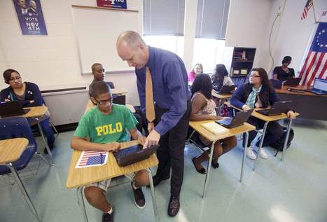 FairfaxTimes.com: <br/>Hayfield teacher's blog a hit | Welcome to the Next Level - Jewish Education | Scoop.it