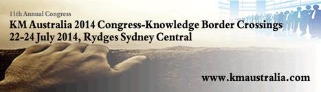 KM Australia 2014 - Knowledge Border Crossings | Future Knowledge Management | Scoop.it