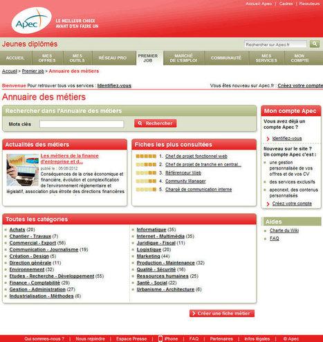 Portail des métiers   Métiers du web   Emploi Métiers Presse Ecriture Design   Scoop.it