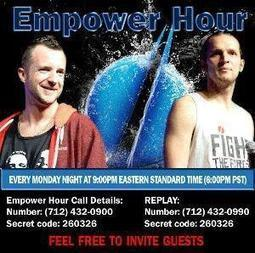 Monday Empower Hour Call | Empowering Forward | Scoop.it