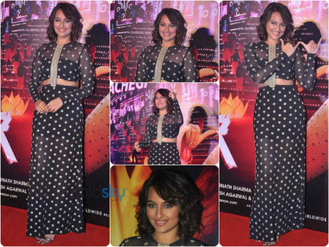 Sonakshi Sinha Looks Resplendent In Sheer | CHICS & FASHION | Scoop.it