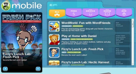 Mobile Downloads | PBS KIDS | UpTo12-Learning | Scoop.it