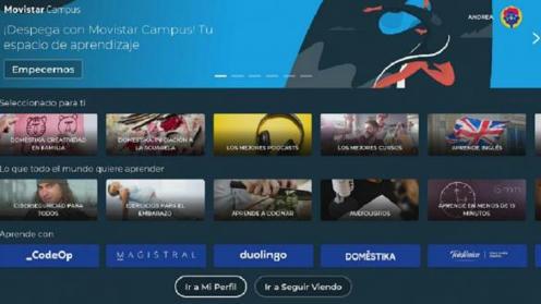 Movistar Campus, la nueva aplicación con contenidos formativos entretenidos