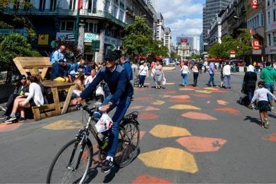 Bruxelles: la vitesse des cyclistes contrôlée à... l'œil sur le piétonnier - Le Soir | Tourisme etcetera ! | Scoop.it