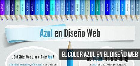 El Color Azul en el Diseño Web (Infografía) | El Mundo del Diseño Gráfico | Scoop.it