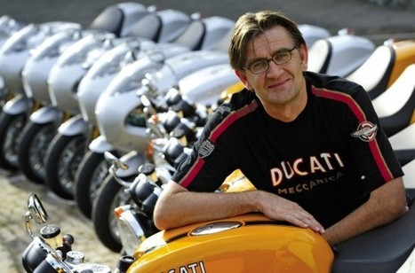 Pierre Terblanche, ex-Ducati designer, joins Royal Enfield | Ductalk Ducati News | Scoop.it
