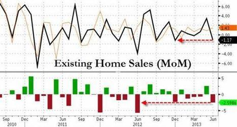 Existing Home Sales Fall By Most In 2013, Biggest Miss In 12 Months | Zero Hedge | Commodities, Resource and Freedom | Scoop.it