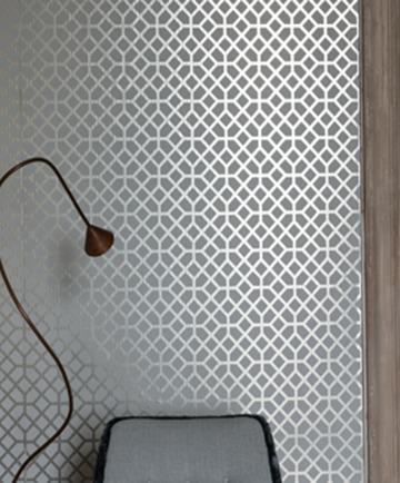 Les effets métalliques chez designers guild tissu dameublement art textile et papier