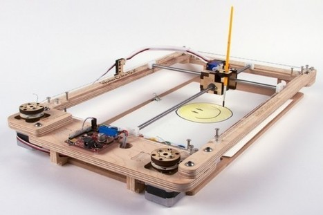 Faveoly Pick of the Day: WaterColorBot (by @EMSL) | Crowdfunding World | Scoop.it